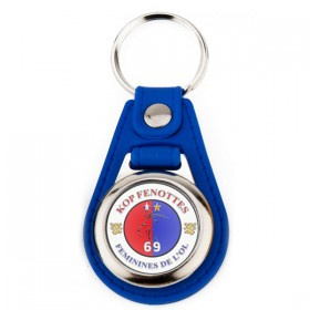 Porte clés porte jeton personnalisé avec le logo au recto